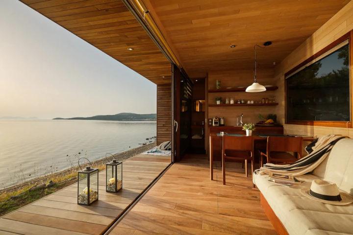 Wooden Dream On The Beach