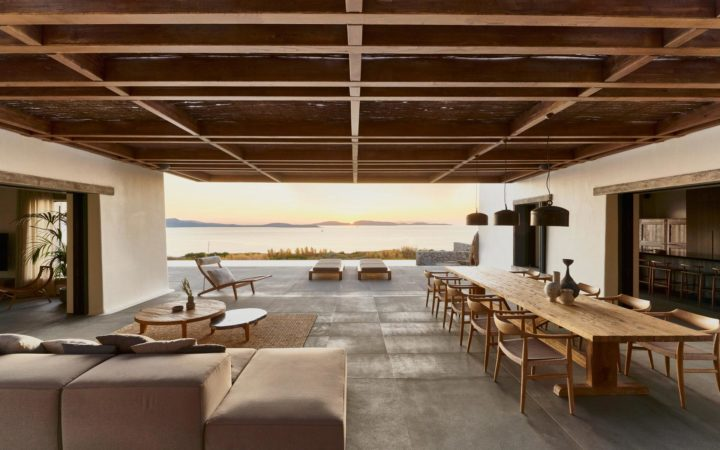 Cycladic Tradition With Contemporary Summer Living Style