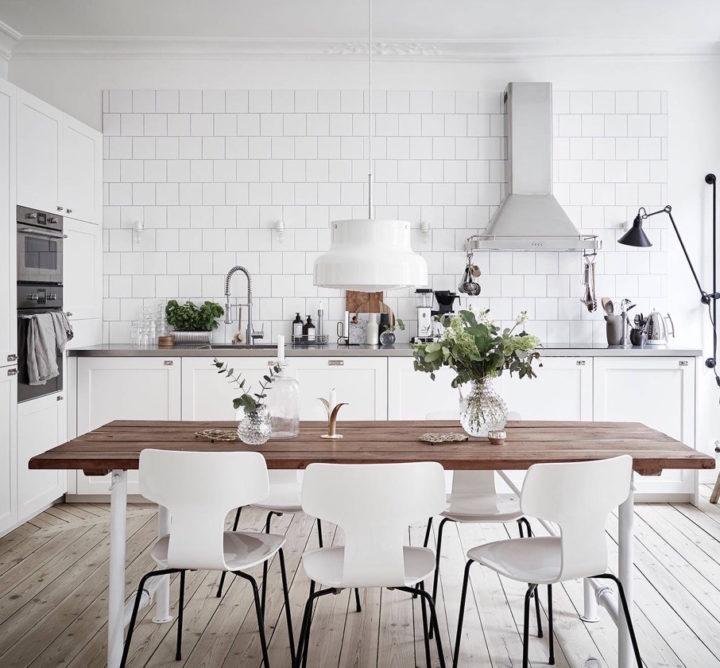 Ideias escandinavas para design de cozinhas pequenas, fornecidas pelos especialistas 71