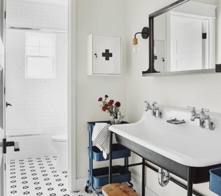 Artesanato combinado com uma mistura de arquitetura tradicional americana e da era do pós-guerra 109