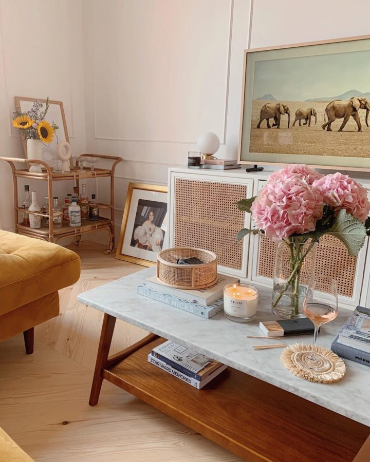 Casa de Kate La Vie, fresca e sofisticada