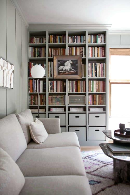 IKEA Billy Bookcase Hack Built-in