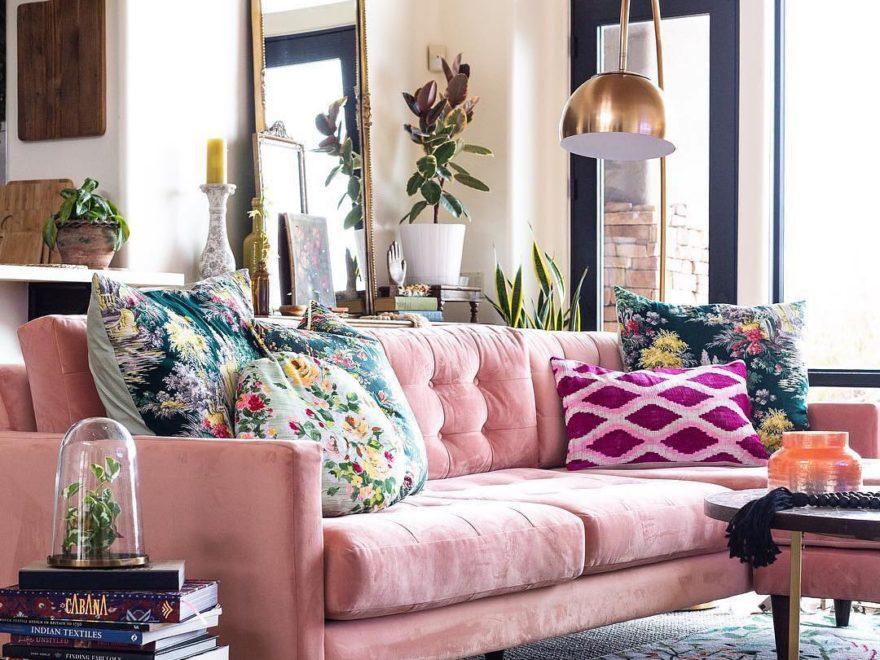 Pink Sofa Sectional Decoholic