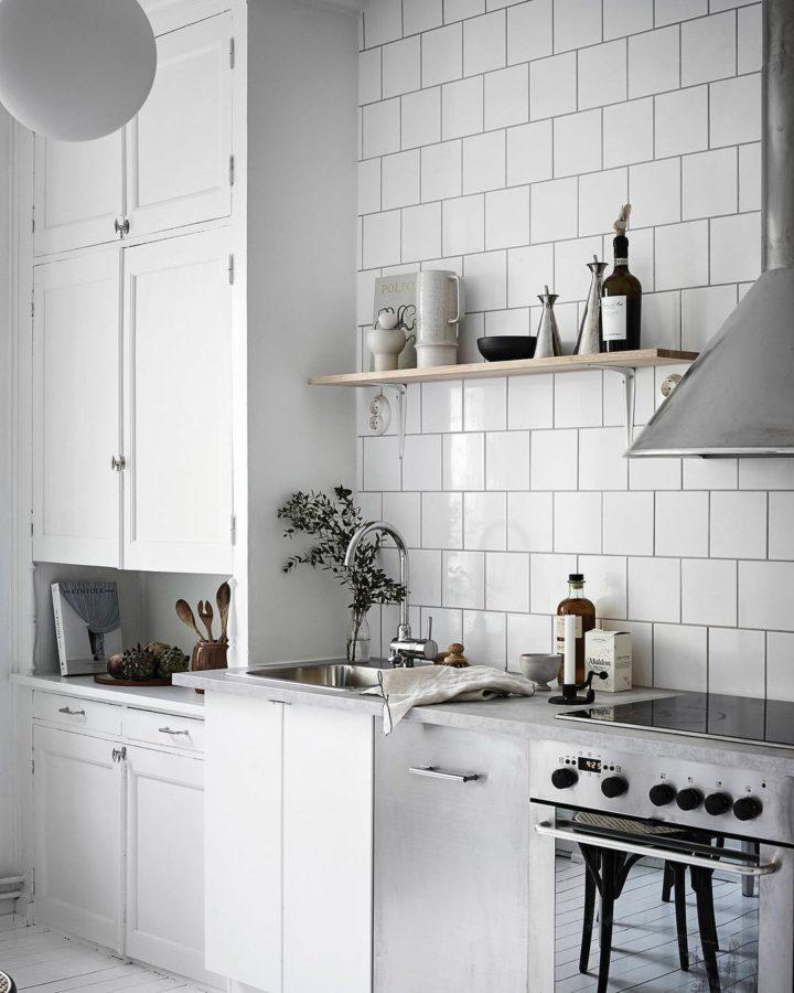 Ideias escandinavas para design de cozinhas pequenas, fornecidas pelos especialistas 74
