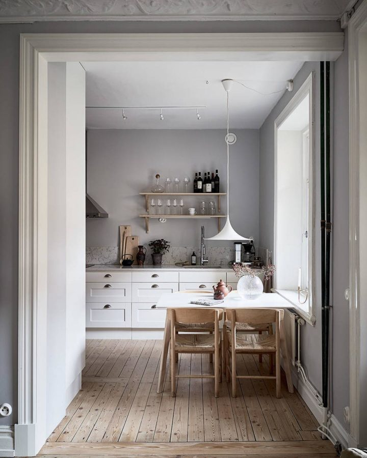 Ideias escandinavas para design de cozinhas pequenas, fornecidas pelos especialistas 89