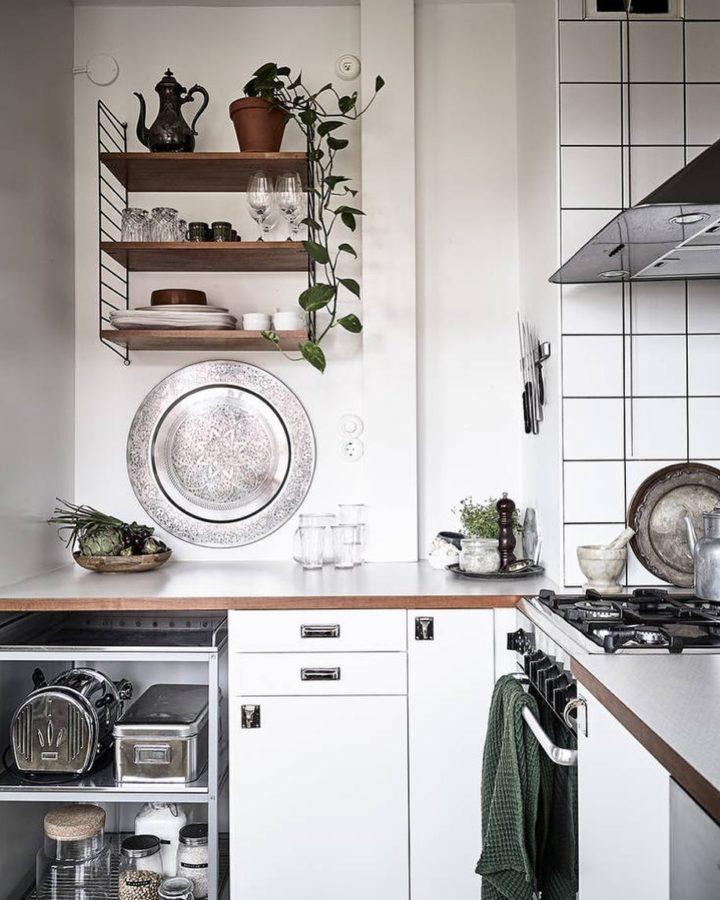 Ideias escandinavas para design de cozinhas pequenas, fornecidas pelos especialistas 91