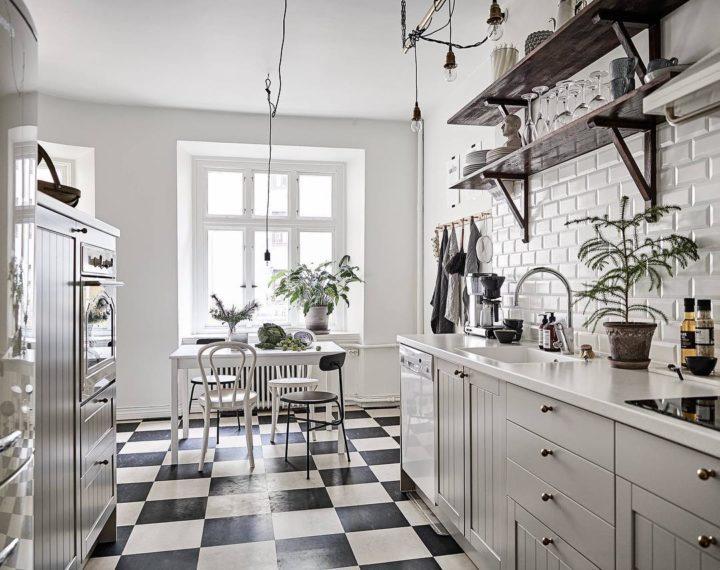 Ideias escandinavas para design de cozinhas pequenas, fornecidas pelos especialistas 86