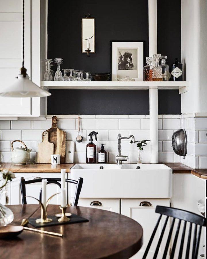 Ideias escandinavas para design de cozinhas pequenas, fornecidas pelos especialistas 94