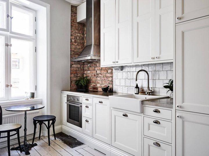 Ideias escandinavas para design de cozinhas pequenas, fornecidas pelos especialistas 96