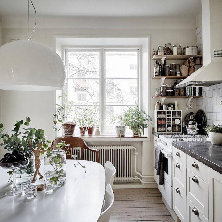 Ideias escandinavas para design de cozinhas pequenas, fornecidas pelos especialistas 88