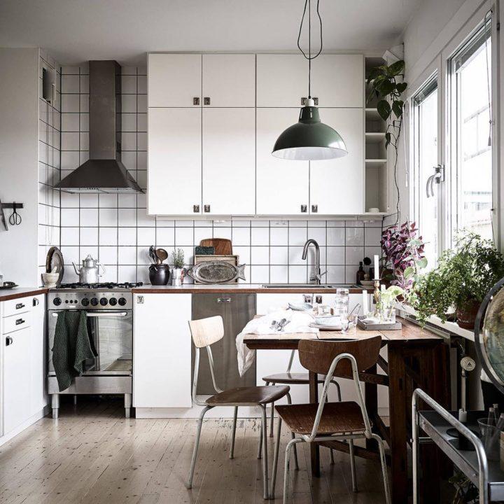 Ideias escandinavas para design de cozinhas pequenas, fornecidas pelos especialistas 97