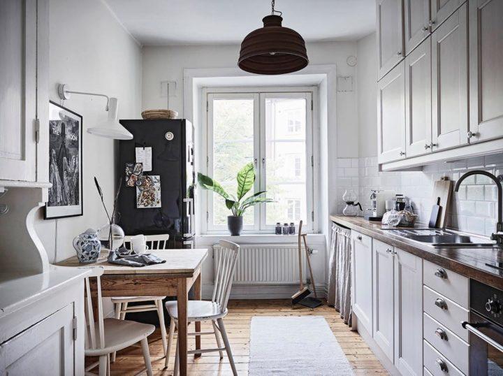Ideias escandinavas para design de cozinhas pequenas, fornecidas pelos especialistas 100