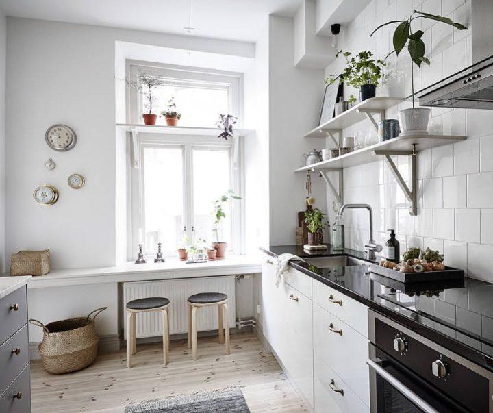 Ideias escandinavas para design de cozinhas pequenas, fornecidas pelos especialistas 102