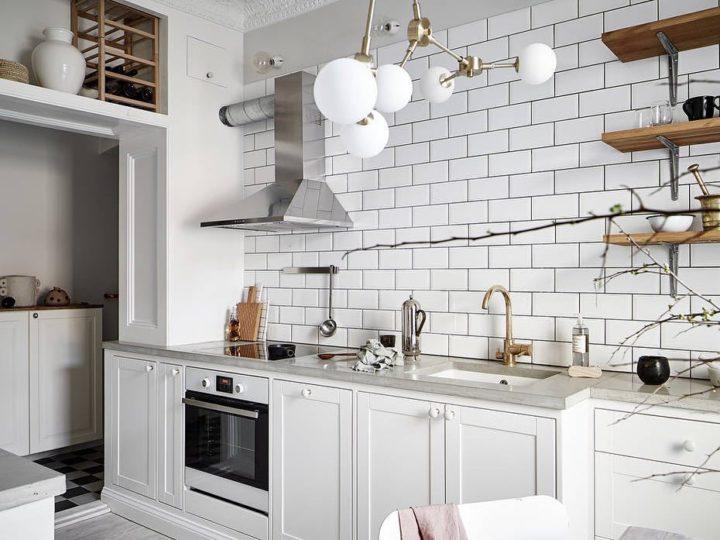 Ideias escandinavas para design de cozinhas pequenas, fornecidas pelos especialistas 103
