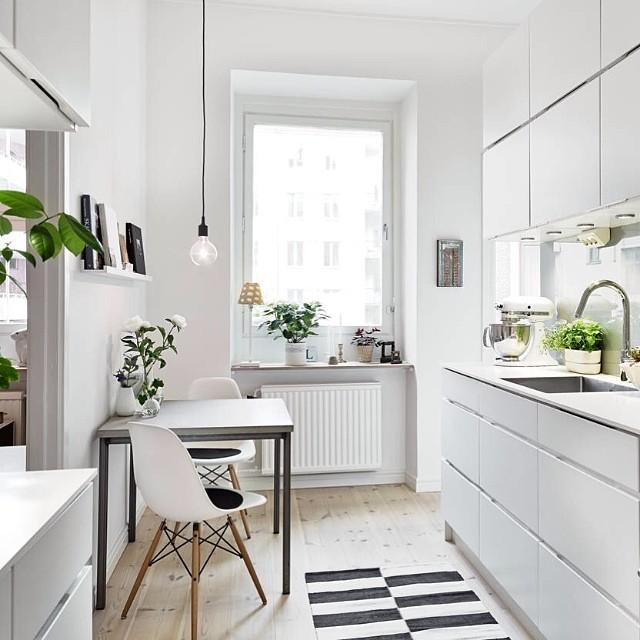 Ideias escandinavas para design de cozinhas pequenas, fornecidas pelos especialistas 81
