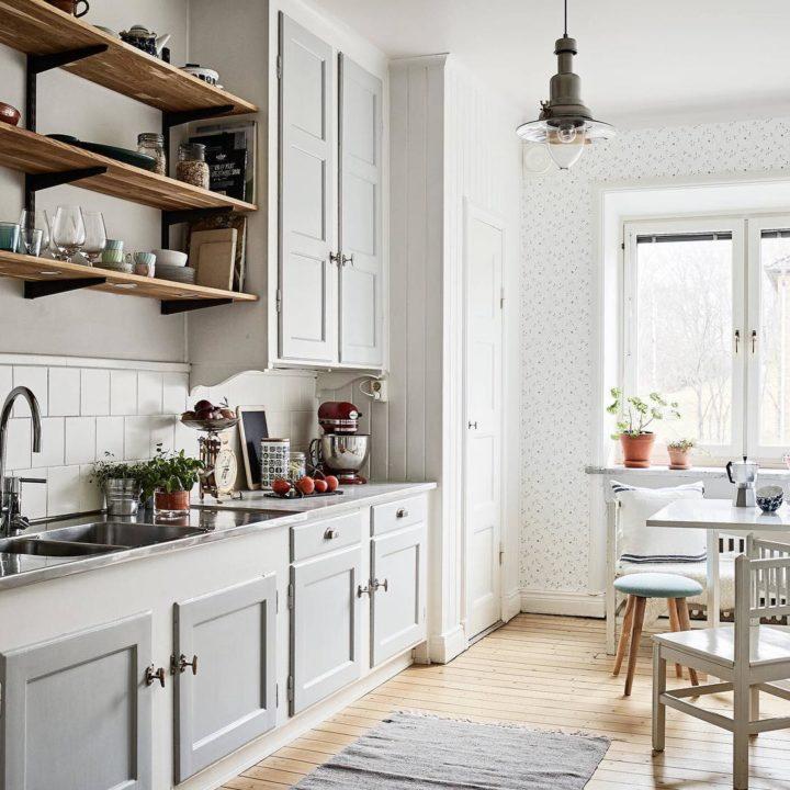 Ideias escandinavas para design de cozinhas pequenas, fornecidas pelos especialistas 77