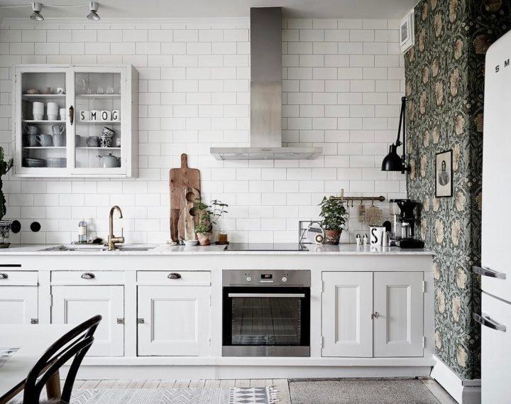 Ideias escandinavas para design de cozinhas pequenas, fornecidas pelos especialistas 83