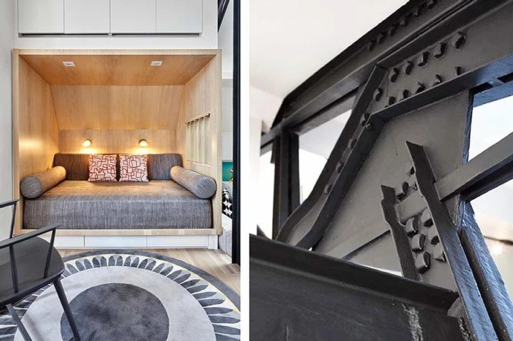 Contemporary Duplex Located At The Top Of An 1888 Former Parish House 7