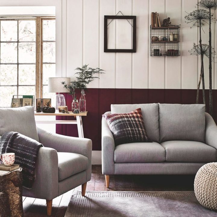 Grey And Burgundy Living Room Ideas Decoholic