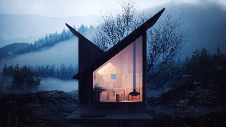 Cozy Minimalist Tiny Mountain Home 2
