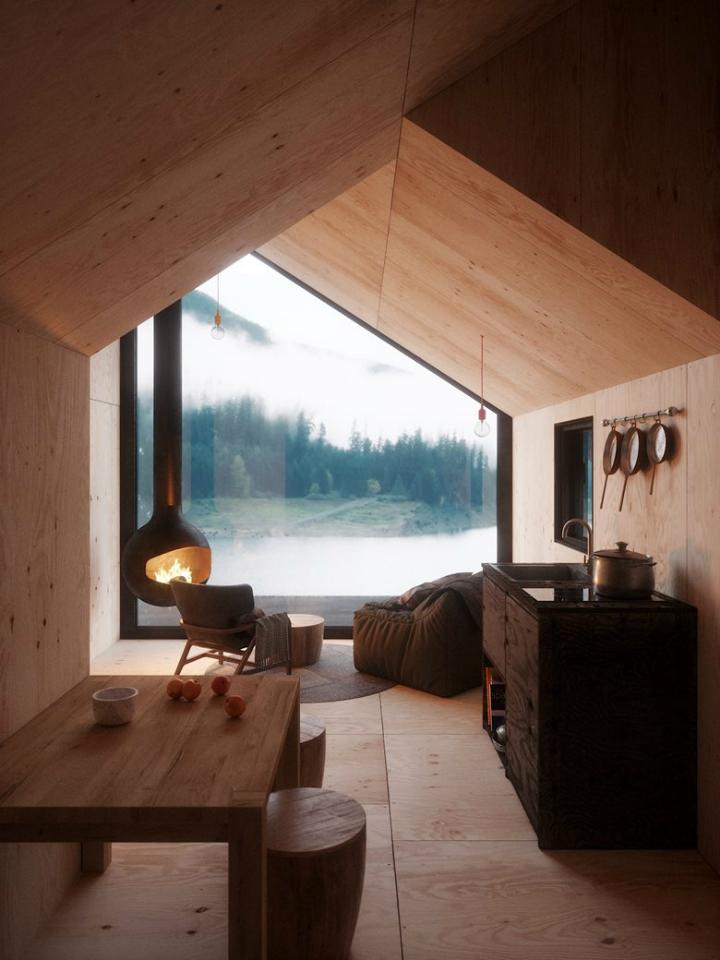 Cozy Minimalist Tiny Mountain Home 3