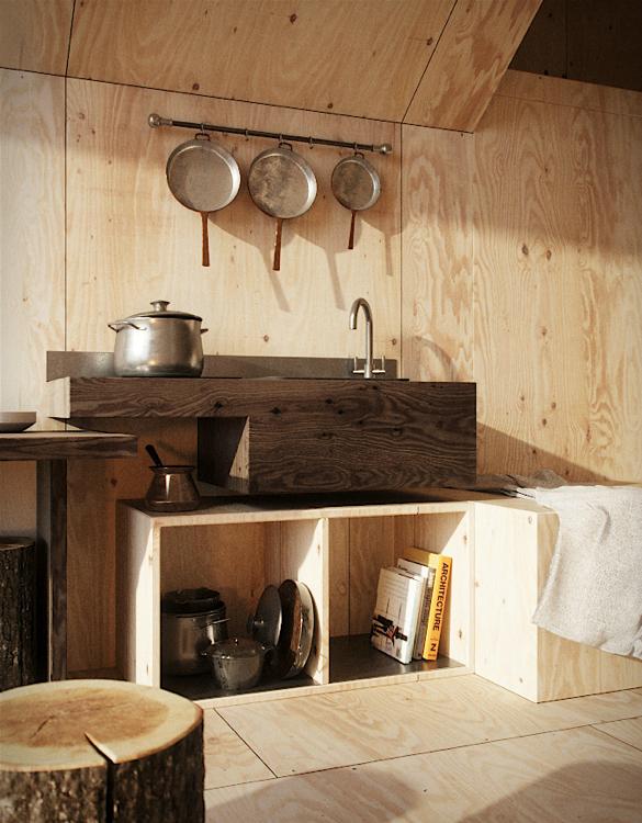 Cozy Minimalist Tiny Mountain Home 4