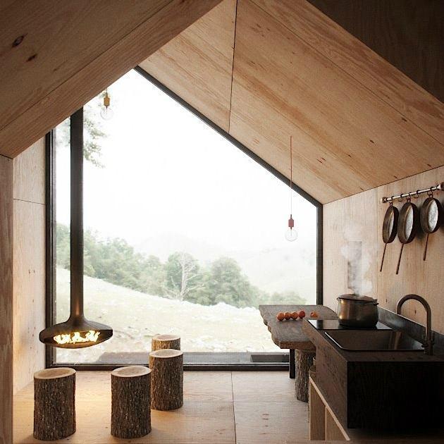 Cozy Minimalist Tiny Mountain Home 5