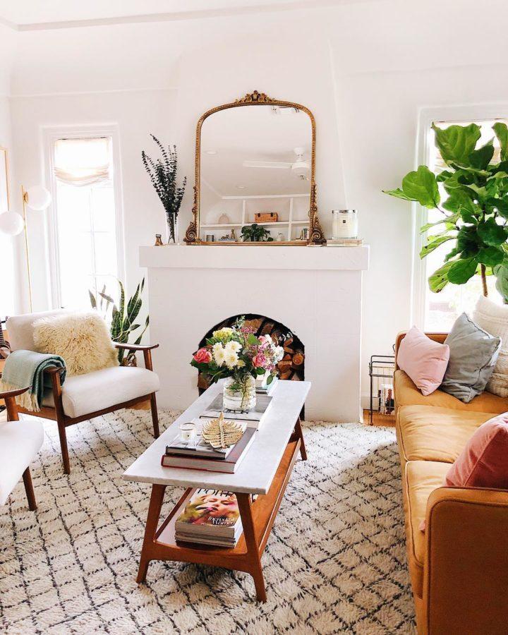 Mid-Century Modern small living room