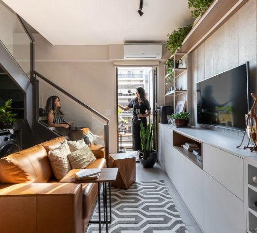 500 sq ft apartment interior design idea