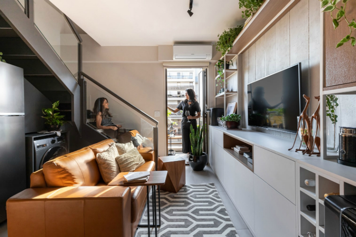 450 Square Feet Apartment Design