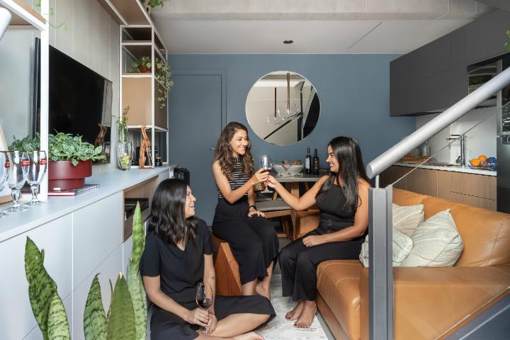 500 sq ft apartment interior design idea 10