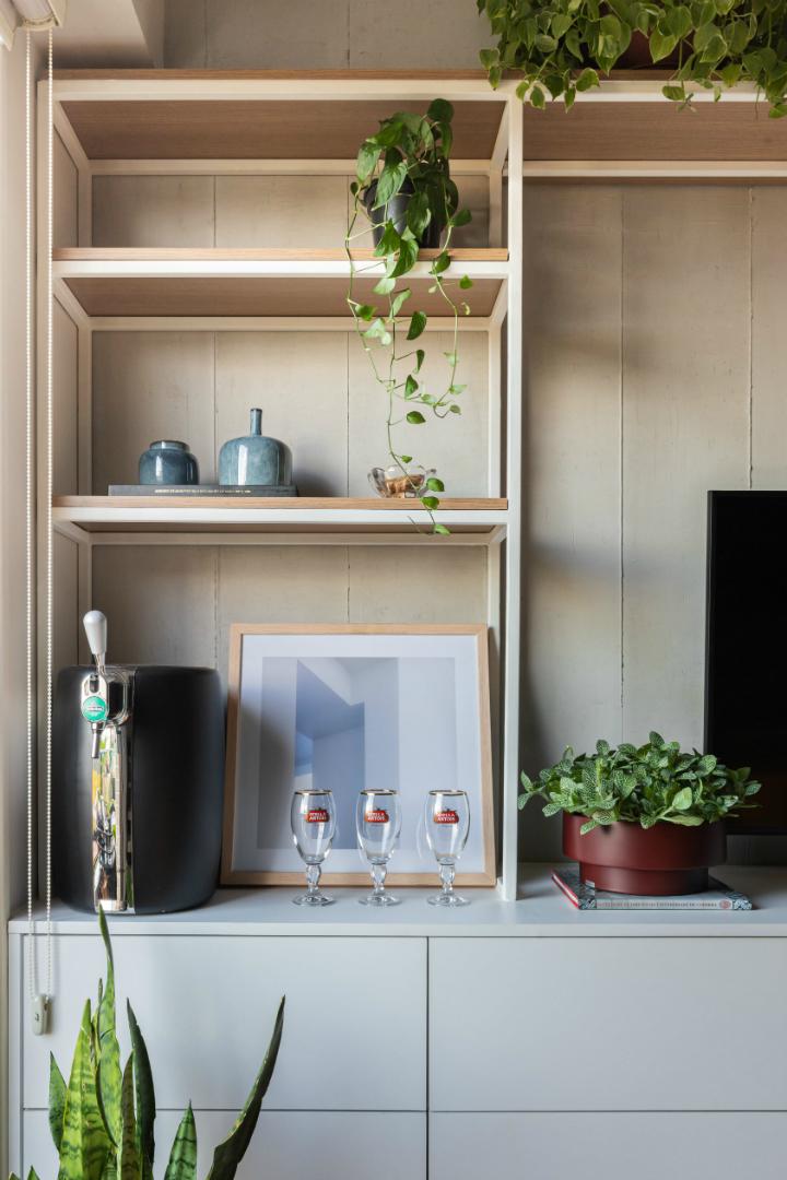 500 sq ft apartment interior design idea 11