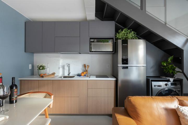 500 sq ft apartment interior design idea 14
