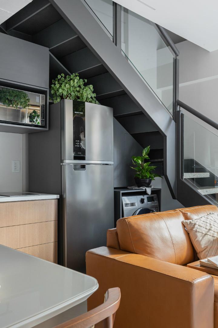 500 sq ft apartment interior design idea 19