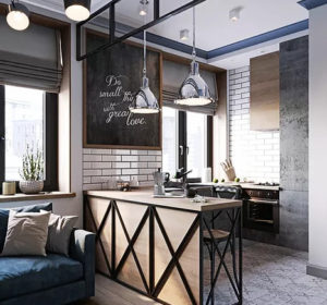Industrial 89-Square-Foot Studio Apartment 3