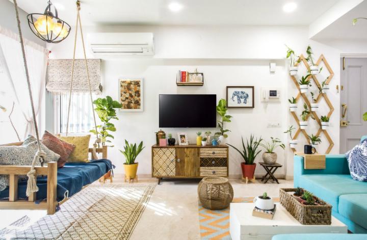 Urban Boho apartment decor