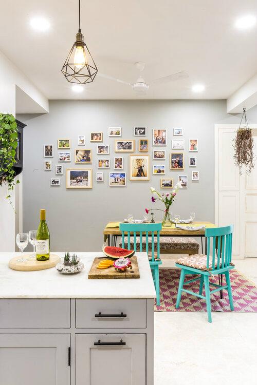 cozy dining room area