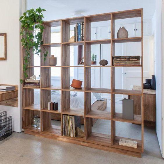 bookshelf room divider