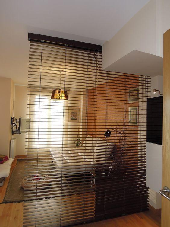 blinds room divider