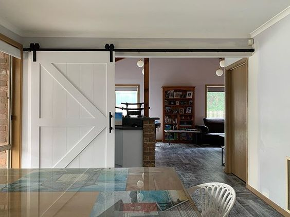 barn doors room divider