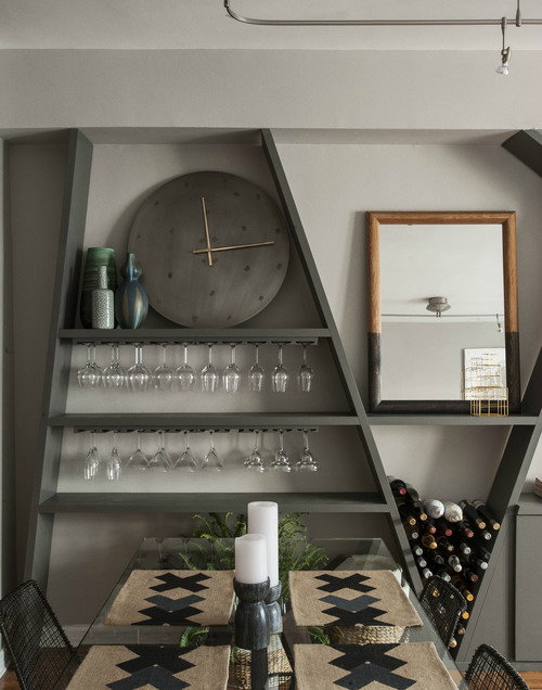 Masculine NYC One Bedroom Apartment 2