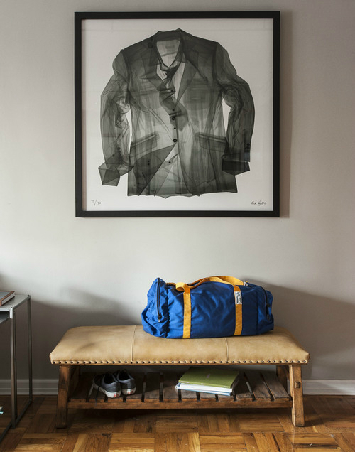 Masculine NYC One Bedroom Apartment 4