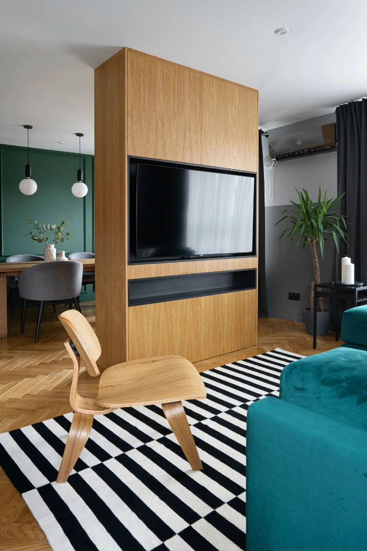 Impressive Stylish Small Apartment 9