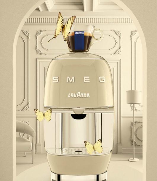 Lavazza A Modo Mio SMEG design stylish coffee machine