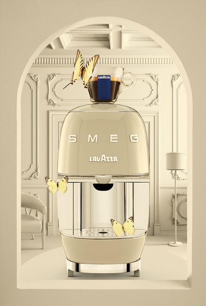 Lavazza A Modo Mio SMEG: a coffee machine with an unmistakable design