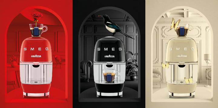 Lavazza A Modo Mio SMEG design stylish coffee machine 4