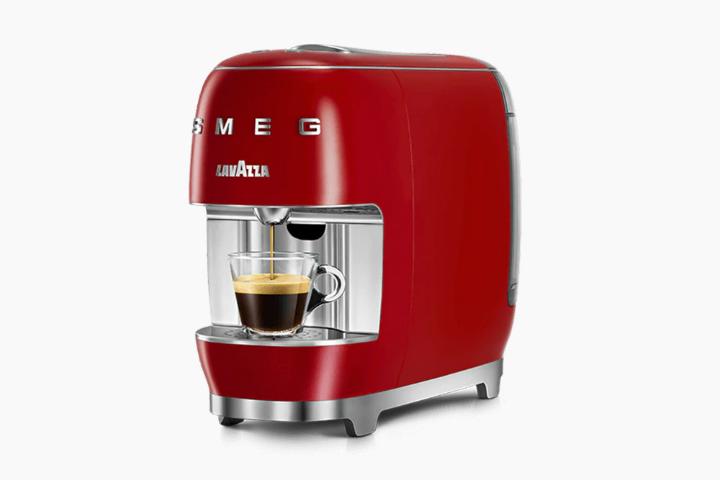 Lavazza A Modo Mio SMEG design stylish coffee machine 7