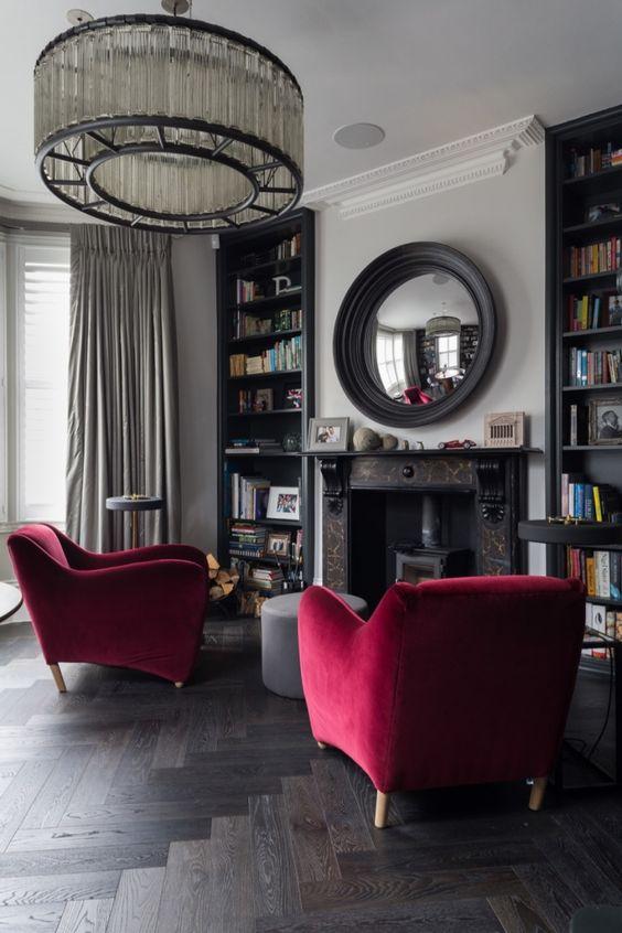 Grey And Burgundy Living Room Ideas | Decoholic