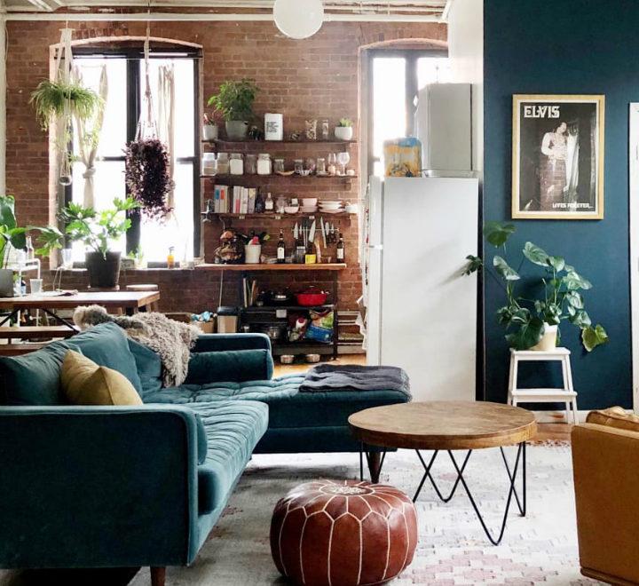 Small Brooklyn Apartment loft 2