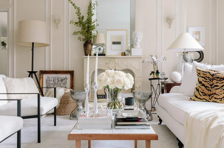 Apartment With Neutral Palette Mixing Old and New 3